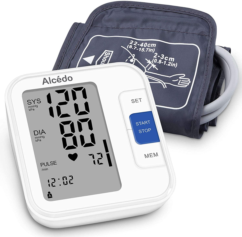 Alcedo Blood Pressure Monitor Review