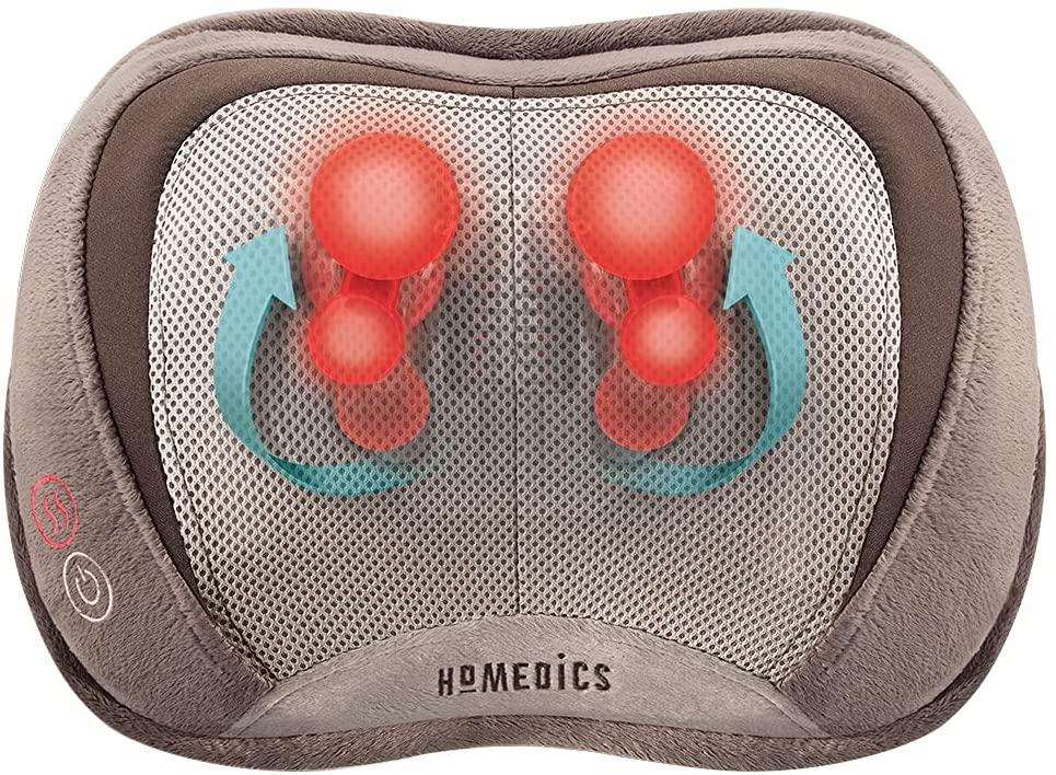 HOMEDICS 3D Shiatsu and Vibration Massage Pillow Review