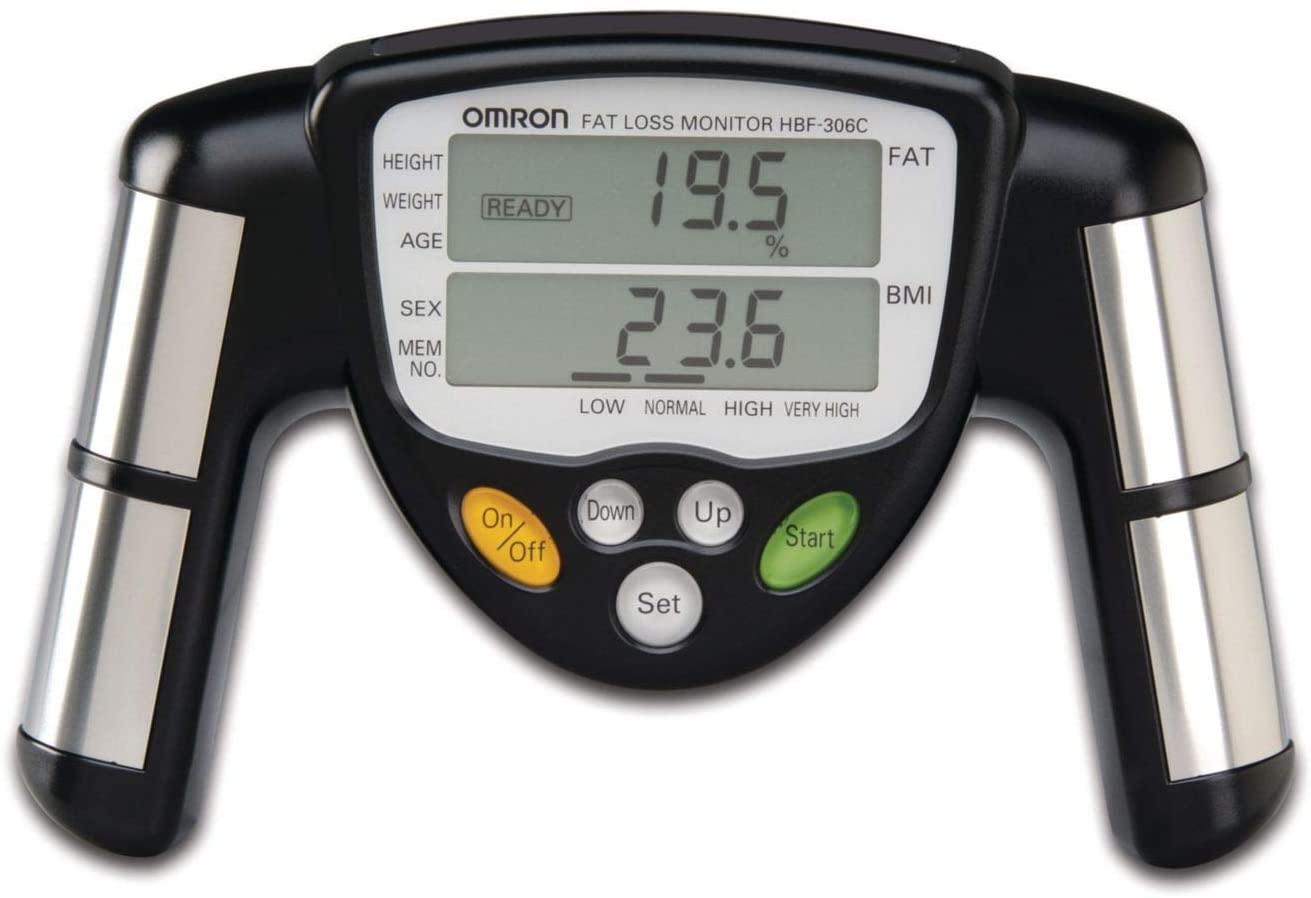 Omron HBF-306c body fat loss monitor review