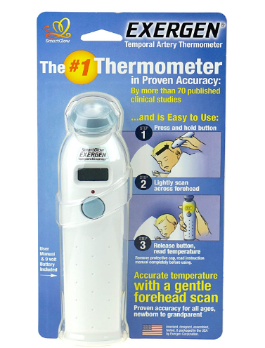 Exergen Temporal Scanner Infrared Thermometer Review