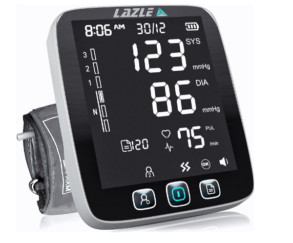 LAZLE Blood Pressure Monitor Review